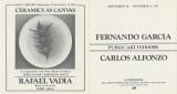 Art exhibitions of Rafael Vadia, Fernando Garcia and Carlos Alfonzo